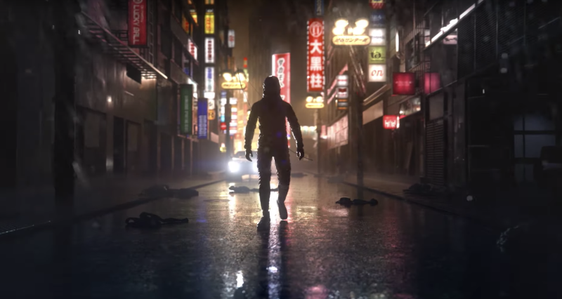 Not much is known about 'Ghostwire: Tokyo,' but based on the pedigree of the people behind it, and its impressive trailer, it could be a standout horror game. (Image: Bethesda)