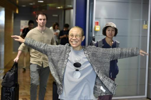 After being allowed to leave China, Liu Xia flew via Helsinki to Berlin, where she arrived just days before the first anniversary of her husband's death from liver cancer