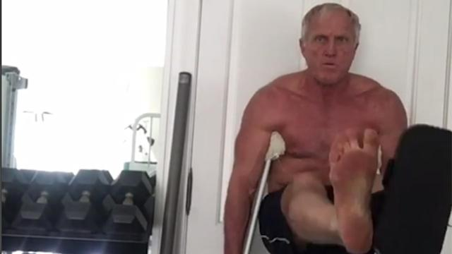 Greg Norman isn't shy about posting shirtless images on Instagram. Now he's set to appear in the latest edition of ESPN's 'Body Issue'.