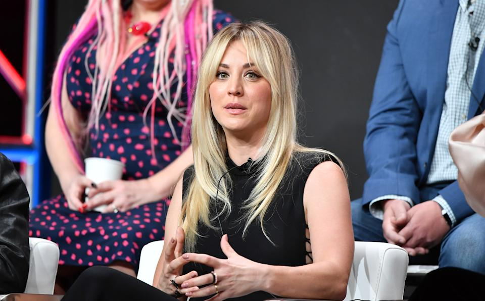 BEVERLY HILLS, CALIFORNIA - JULY 23: Kaley Cuoco from
