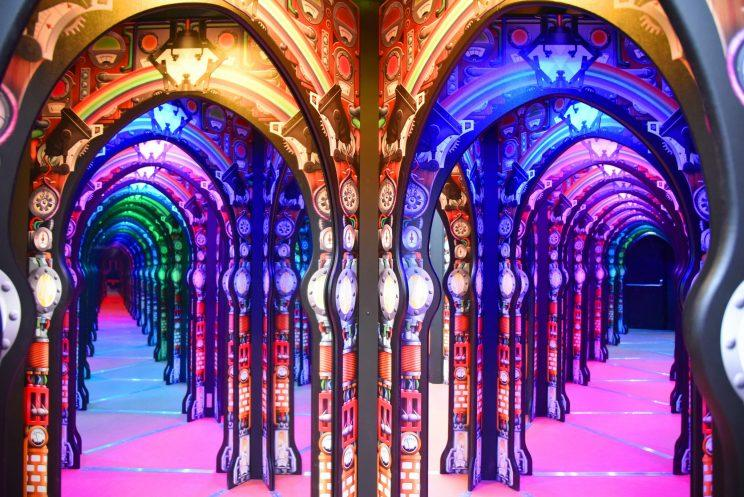 The Mirror Centre.Mirror Maze And Optical Illusion Exhibitions Open At Science