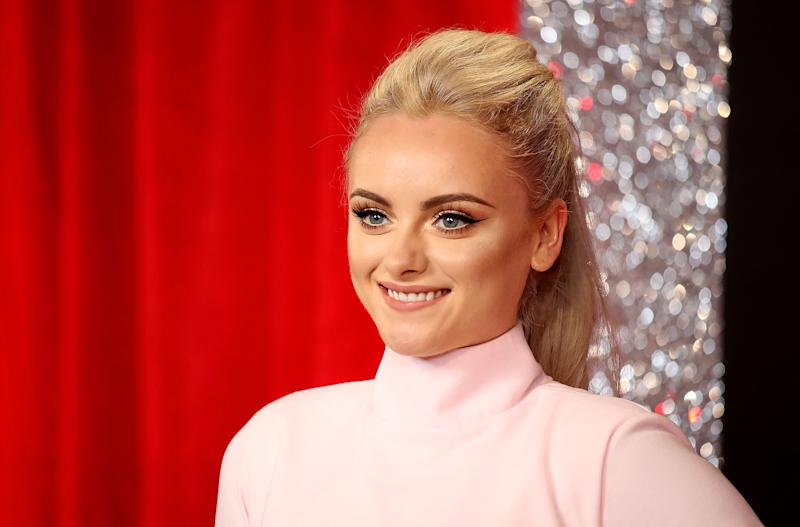 Katie McGlynn attends The British Soap Awards at The Lowry Theatre on June 3, 2017 in Manchester, England. The Soap Awards will be aired on June 6 on ITV at 8pm. (Photo by Mike Marsland/Mike Marsland/WireImage)