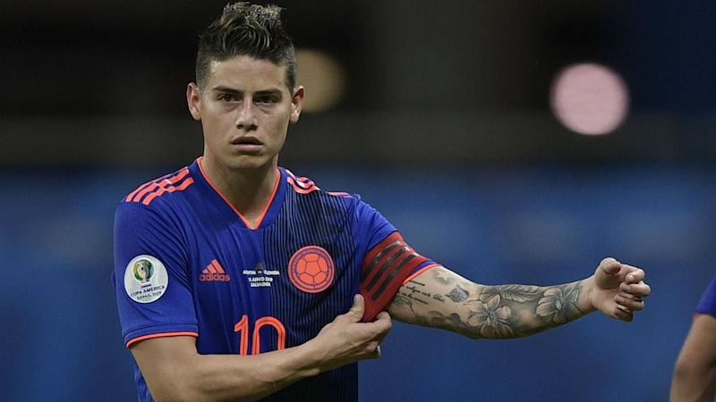 Atletico president Cerezo plays down club's interest in James Rodriguez