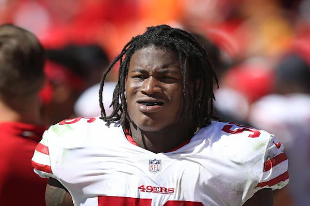 The Redskins spent Thursday defending their waiver claim of linebacker Reuben Foster, who faces domestic violence charges. (Getty Images)
