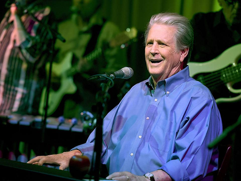Brian Wilson of The Beach Boys performs in 2015 (Kevin Winter/Getty Images)