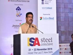 Dharmendra Pradhan urges steelmakers to adopt green practices, boost production