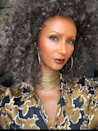 <p>Whether you're looking to gradually go gray or need a dramatic color revamp, model <strong>Iman</strong>'s giving us all the inspiration we need. Silver strands highlight gray undertones to make this overall look extra chic.</p>