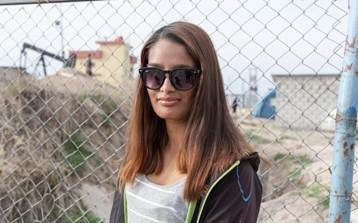 Shamima Begum does not pose a threat to the British public, according to a former US ambassador who met her in northeast Syria - Sam Tarling for The Telegraph