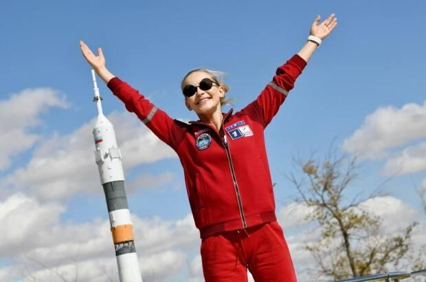 Peresild said the months of space training were physically and psychologically exhausting.   (Sasha Gusov - image credit)