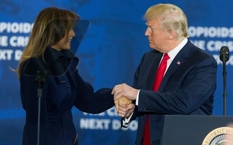 Donald Trump married Melania in 2006. She is his third wife - Barcroft Media
