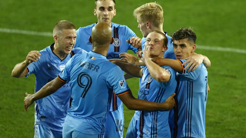 New York City 1-0 Columbus Crew: Eastern Conference leaders stunned