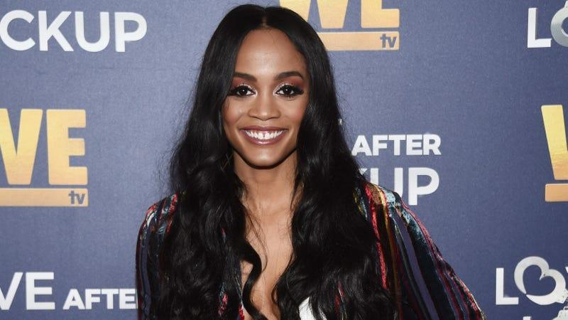 Rachel Lindsay arrives at WE tv's Real Love: Relationship Reality TV's Past, Present & Future even on December 11, 2018 in Beverly Hills, California.