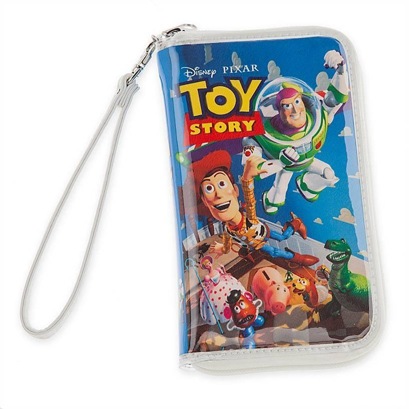 """<p>Be kind and rewind the <span><strong>Toy Story</strong> """"VHS Case"""" Clutch</span> ($28).</p>"""