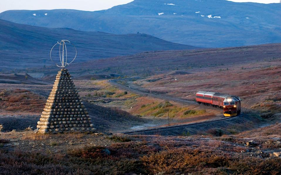Travel from Trondheim to Bodo on Norway's 450-mile Nordland Line