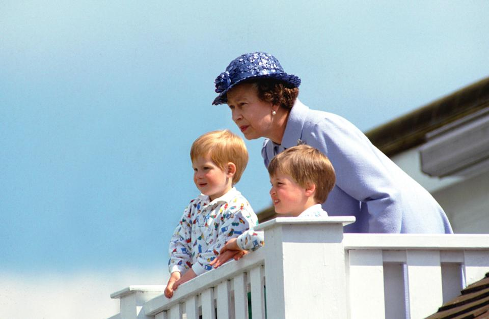 """<h1 class=""""title"""">Queen Harry And William</h1><cite class=""""credit"""">Tim Graham/Getty Images</cite>"""