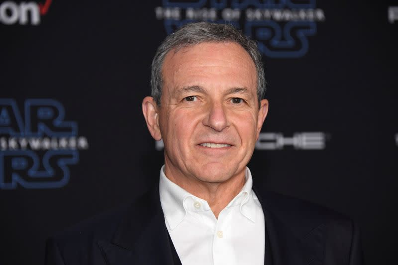 """FILE PHOTO:  Robert Iger attends the premiere of """"Star Wars: The Rise of Skywalker"""" in Los Angeles"""