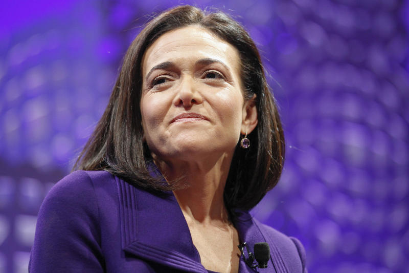 Facebook Chief Operating Officer Sheryl Sandberg on a panel at the Fortune Global Forum on November 3, 2015 in San Francisco, California.