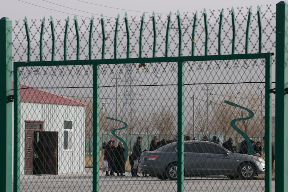 China has come under fire for alleged human rights abuses against Uighur Muslims and other ethnic minorities (AP)