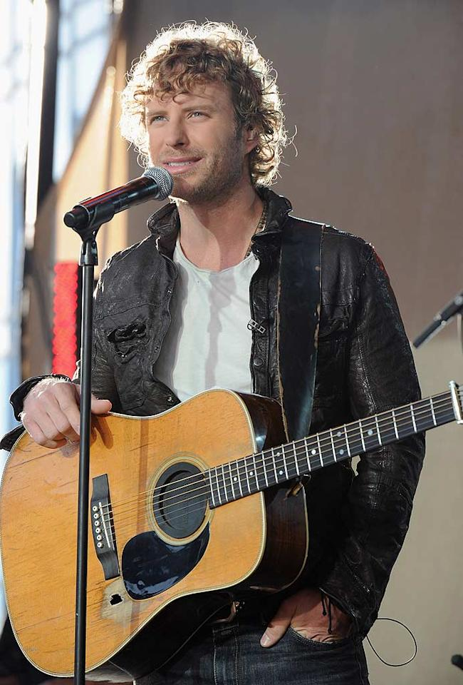 """No doubt about it: Dierks Bentley's curly 'do makes him one of the most gorgeous guys in the genre. He can """"Come a Little Closer"""" anytime! Andrew H. Walker/<a href=""""http://www.wireimage.com"""" target=""""new"""">WireImage.com</a> - November 10, 2010"""