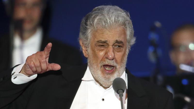 Tenor Placido Domingo blames accusations on cultural differences