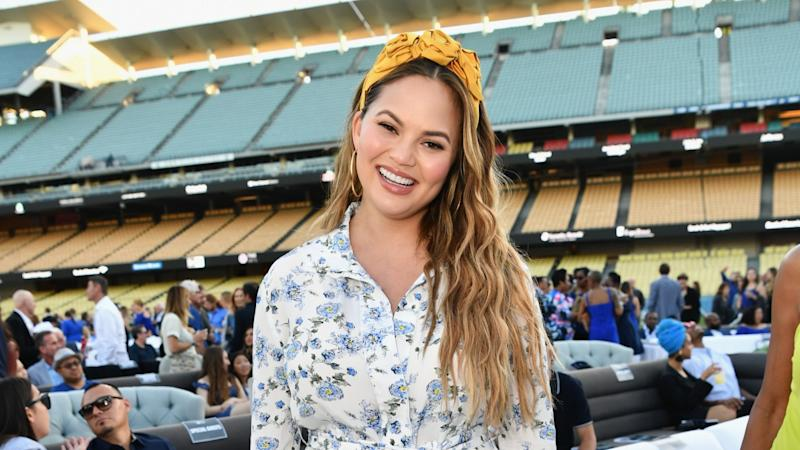 Chrissy Teigen Shows Off Her 'Space Baby' Miles -- See the Sweet Pic!
