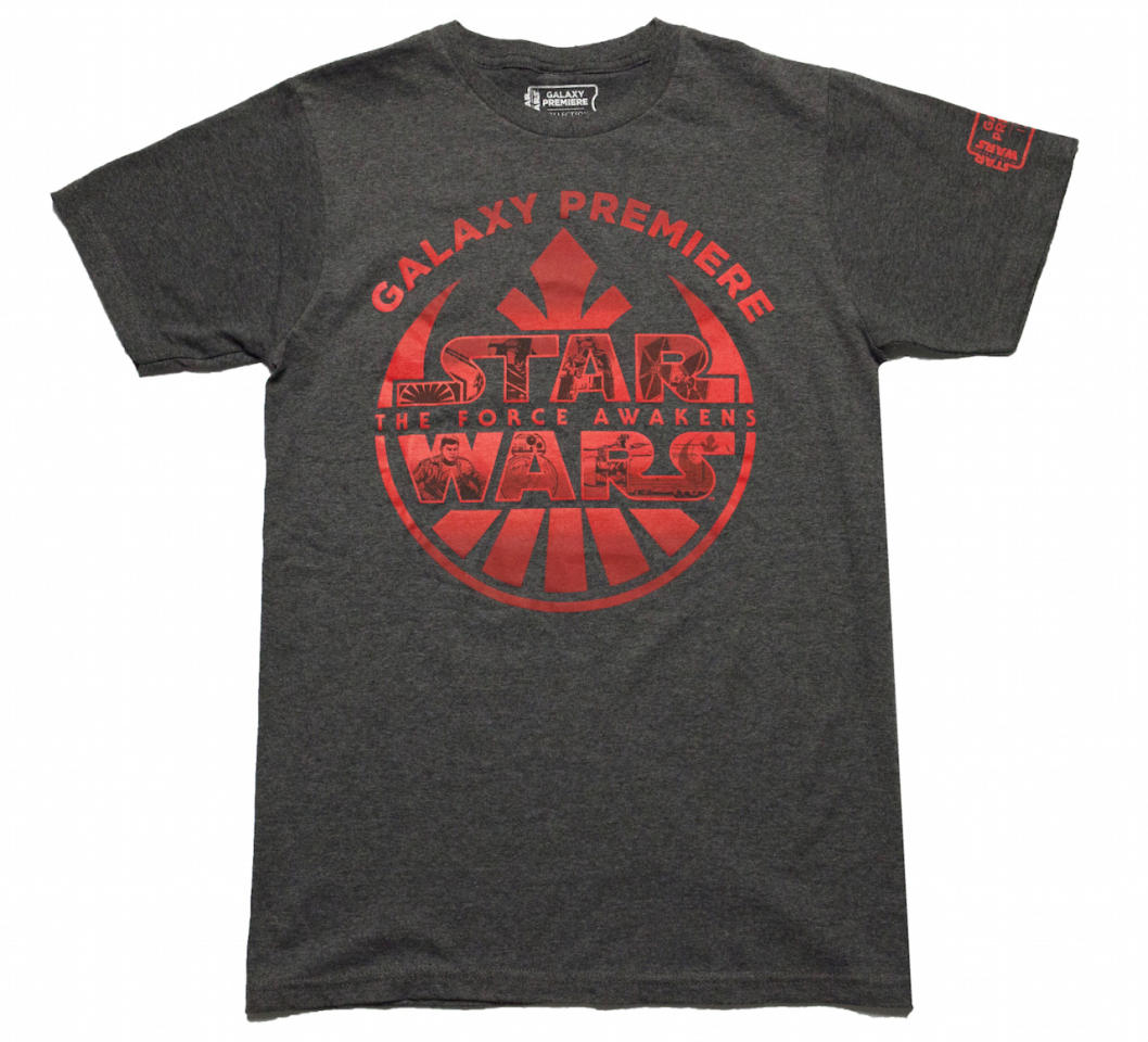 <p>Combines the logos for the Resistance and First Order and includes scenes and characters from the film. ($25)</p>