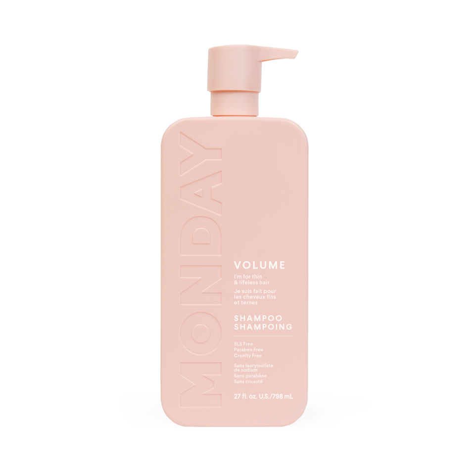 MONDAY Haircare starts at just $7 a bottle. Image courtesy of MONDAY Haircare.