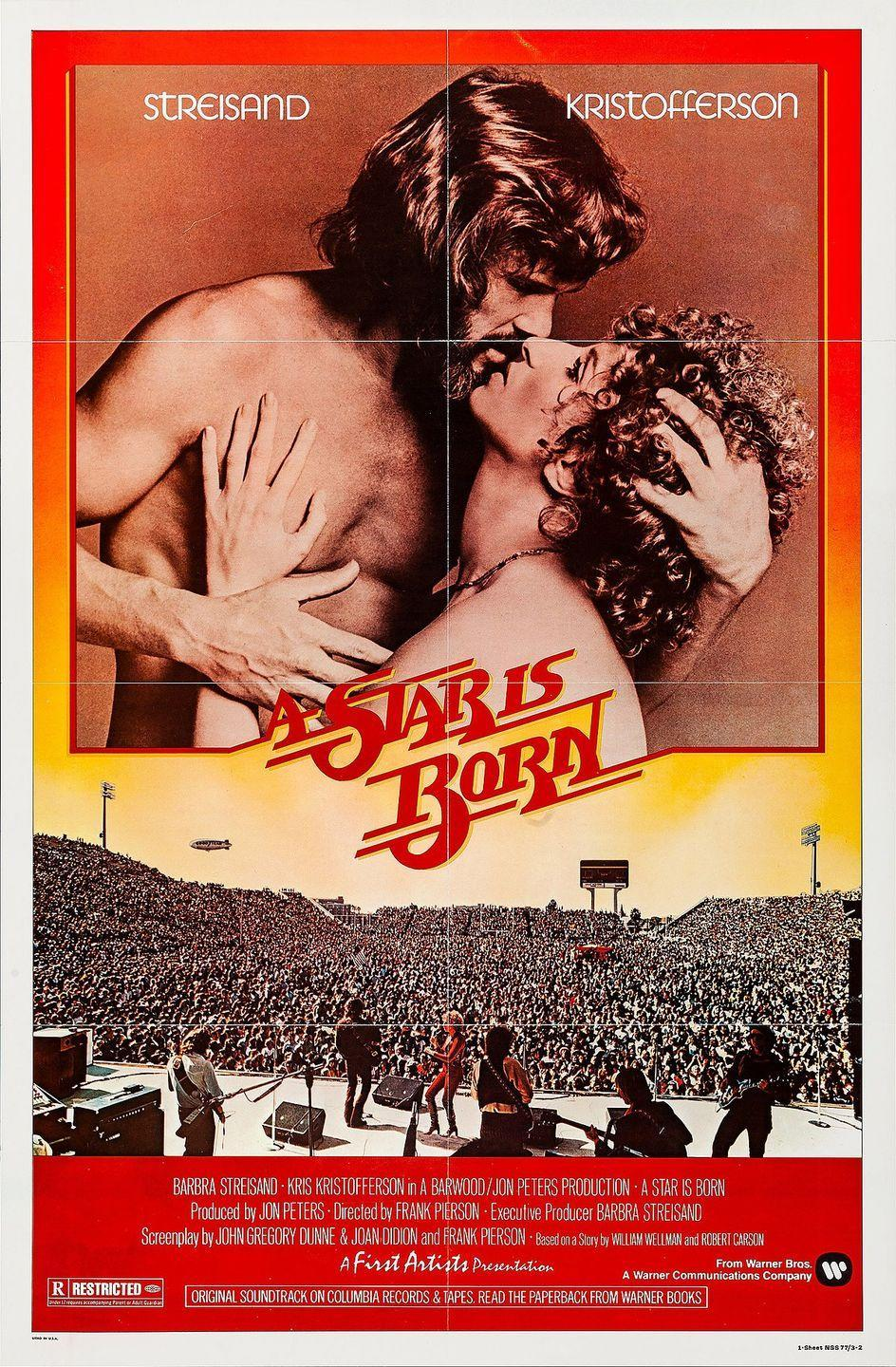 "<p>Each version of <em>A Star is Born </em>has its merits and could easily make this list, but we'll go with the 1976 freewheeling folk take starring Barbra Streisand and Kris Kristofferson. The soundtrack, which shows off Streisand's pop star bona fides, is buoyed by songs like the Academy Award-winning <a href=""https://www.youtube.com/watch?v=X-Ro7baEa6w"" rel=""nofollow noopener"" target=""_blank"" data-ylk=""slk:&quot;Evergreen&quot;"" class=""link rapid-noclick-resp"">""Evergreen""</a> and the chugging rock duet <a href=""https://www.youtube.com/watch?v=r6Jb2CA_xx8"" rel=""nofollow noopener"" target=""_blank"" data-ylk=""slk:&quot;Watch Closely Now.&quot;"" class=""link rapid-noclick-resp"">""Watch Closely Now.""</a> Whichever version of <em>A Star is Born </em>you opt for, each deserves praise for presenting the darker side of the film and music industry dreams.</p><p><a class=""link rapid-noclick-resp"" href=""https://www.amazon.com/Star-Born-Barbra-Streisand/dp/B0036UMM84?tag=syn-yahoo-20&ascsubtag=%5Bartid%7C10063.g.34344525%5Bsrc%7Cyahoo-us"" rel=""nofollow noopener"" target=""_blank"" data-ylk=""slk:WATCH NOW"">WATCH NOW</a></p>"