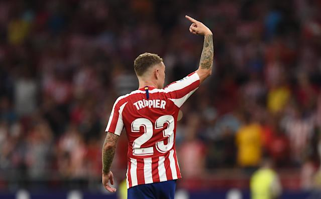 Kieran Trippier moved to Atletico Madrid from Tottenham over the summer. (Credit: Getty Images)