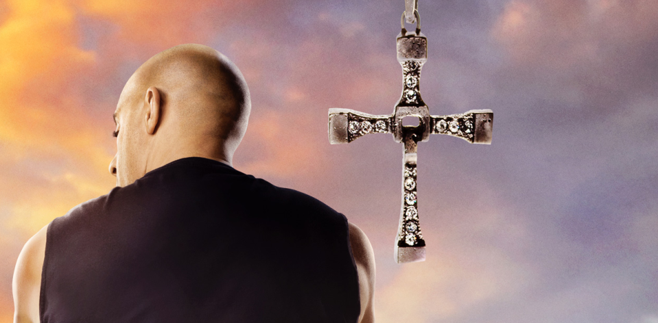 Vin Diesel in the first Fast 9 poster (Credit: Universal)