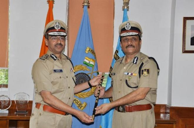 Rajeev Rai Bhatnagar has taken charge as new DG of CRPF