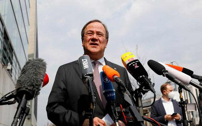 Armin Laschet will campaign to be the next Chancellor of Germany - REUTERS
