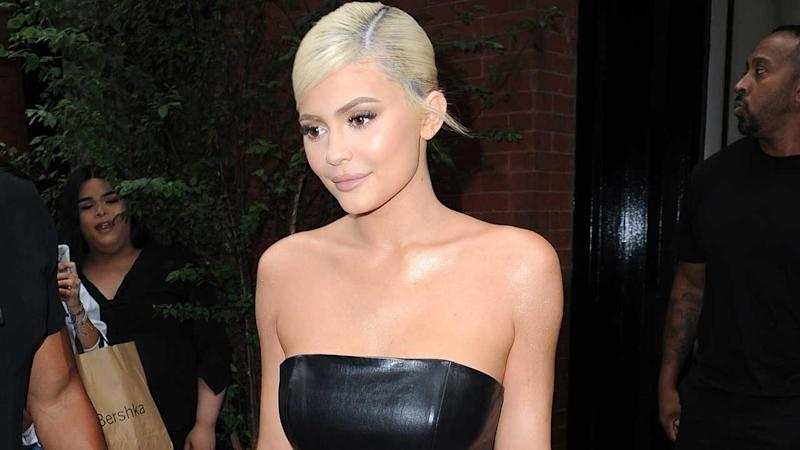 ff5911fe928e Kylie Jenner Dresses as Barbie for Halloween After Her Doll-Themed 21st  Birthday Party