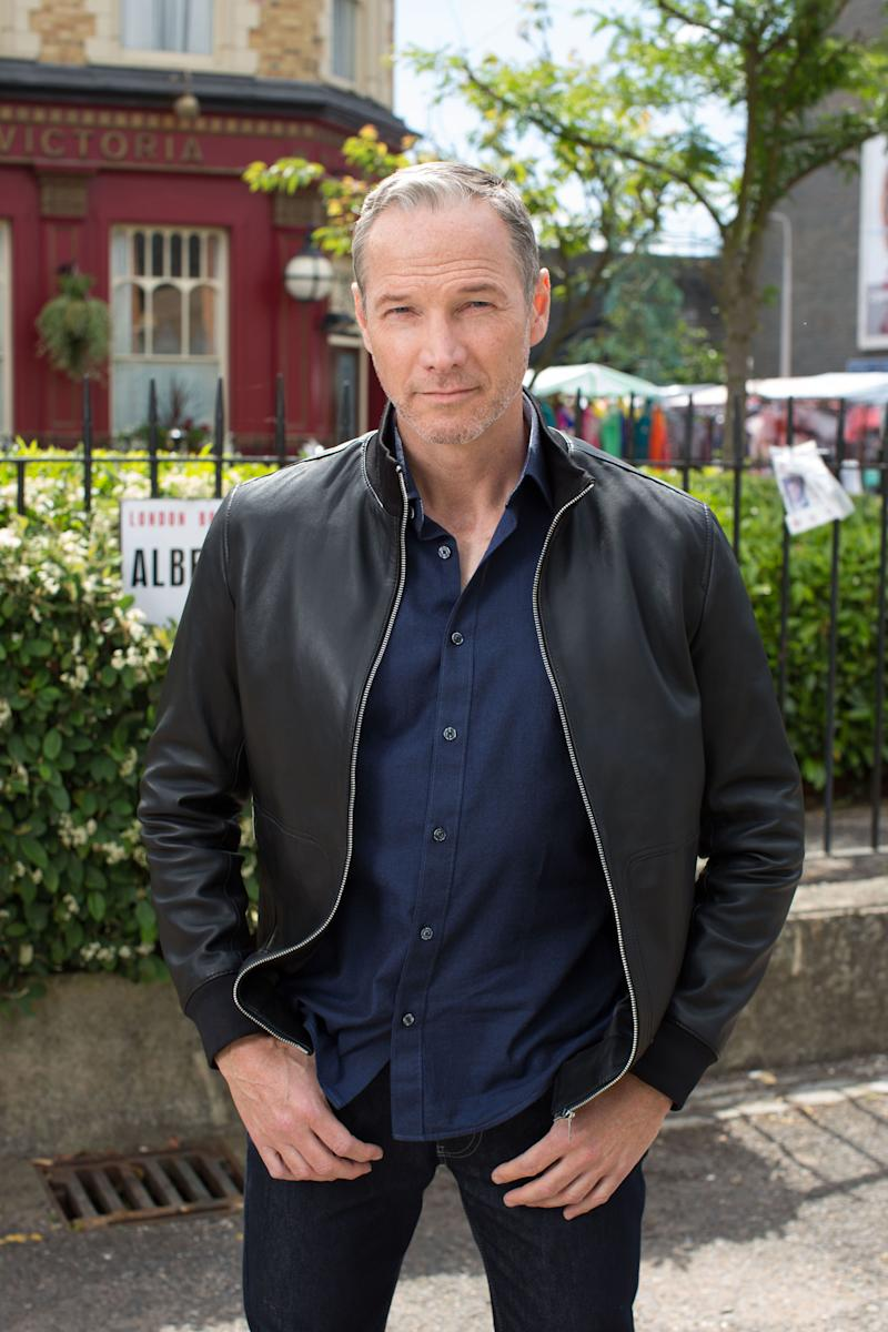 Ray Kelly actor Sean Mahon chased on to train by furious EastEnders fan