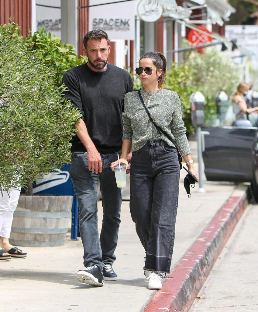 Ben Affleck Ana de Armas together on June 20, 2020 in Los Angeles. <br> (Photo by BG004/Bauer-Griffin/GC Images)