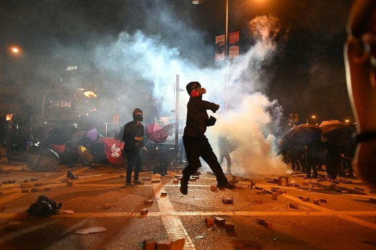 Hong Kong was rocked by seven straight months of pro-democracy protests last year -- demonstrations which led to thousands of arrests