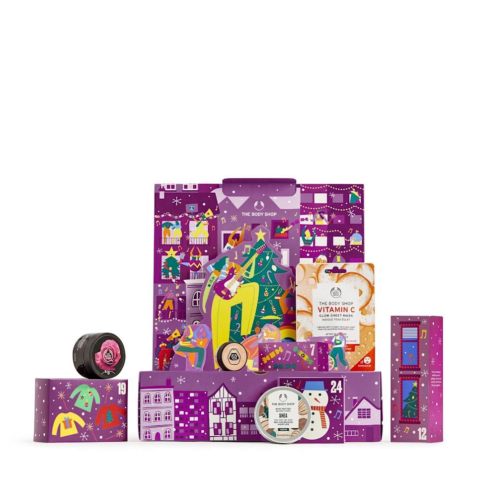<p>Available 31 August</p><p>The true kings of Christmas, The Body Shop have stepped things up for 2021, launching not one, not two, not three, but a massive four beauty advent calendars. Each calendar is themed around celebrating the acts of kindness carried out everyday by the millions of unpaid carers and volunteers around the world, with a portion of proceeds from each sale going to the Honeypot Children's Charity that supports young carers in the UK. </p>
