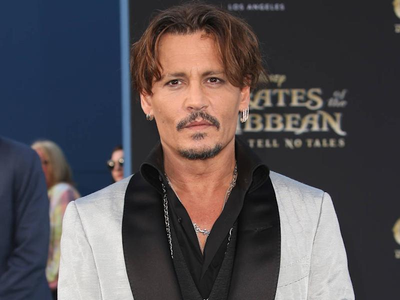 Johnny Depp failed to surprise ride-goers at Disneyland