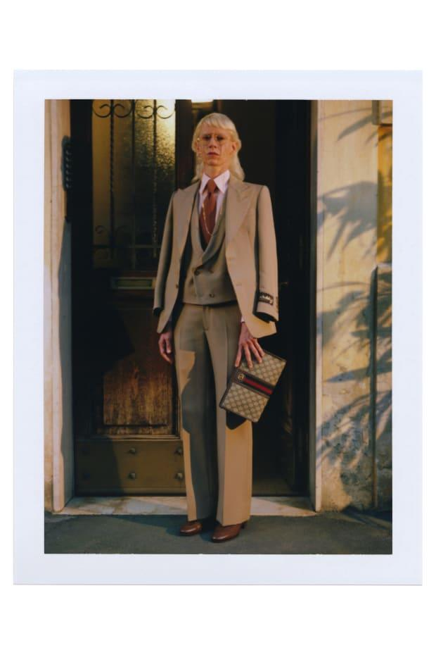 """<p>A look from Gucci's """"Ouverture of Something That Never Ended: Episode 7."""" Photo: Gus Van Sant/Courtesy of Gucci</p>"""