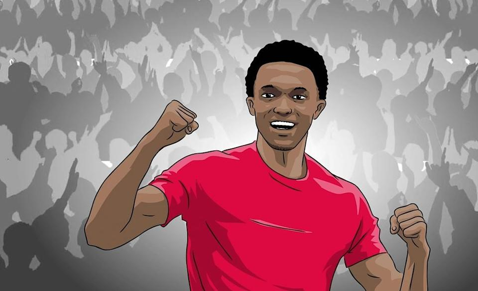 <p>Alexander-Arnold has remembers his time as a fan</p>Red Bull