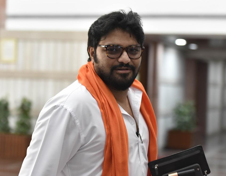Babul Supriyo in New Delhi. (Photo by Sonu Mehta/Hindustan Times via Getty Images)
