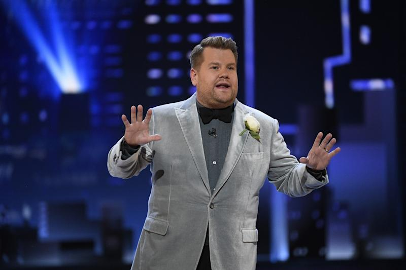 """James Corden will host """"Homefest:James Corden's Late Late Show Special"""" from his garage."""