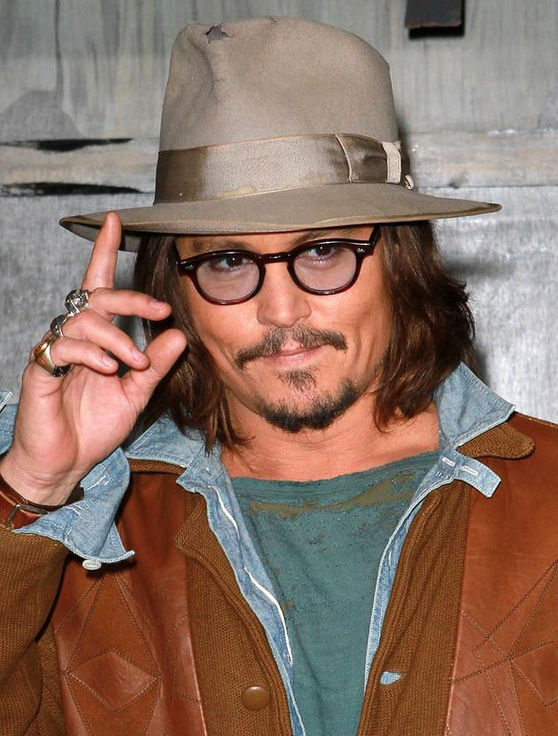 Johnny Depp photos: Want to know the way to JD's heart? Lots of hats.