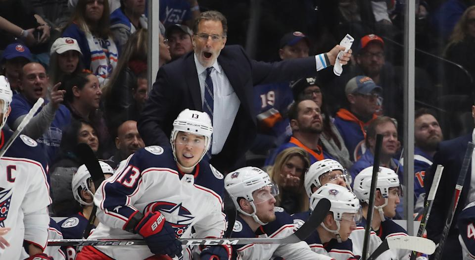 John Tortorella didn't hold back anything while discussing the departures of Matt Duchene, Sergei Bobrovsky and Artemi Panarin. (Photo by Bruce Bennett/Getty Images)