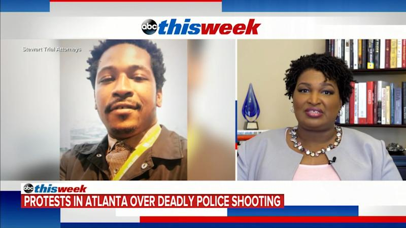 """Stacey Abrams on """"This Week."""" (Screenshot: ABC)"""