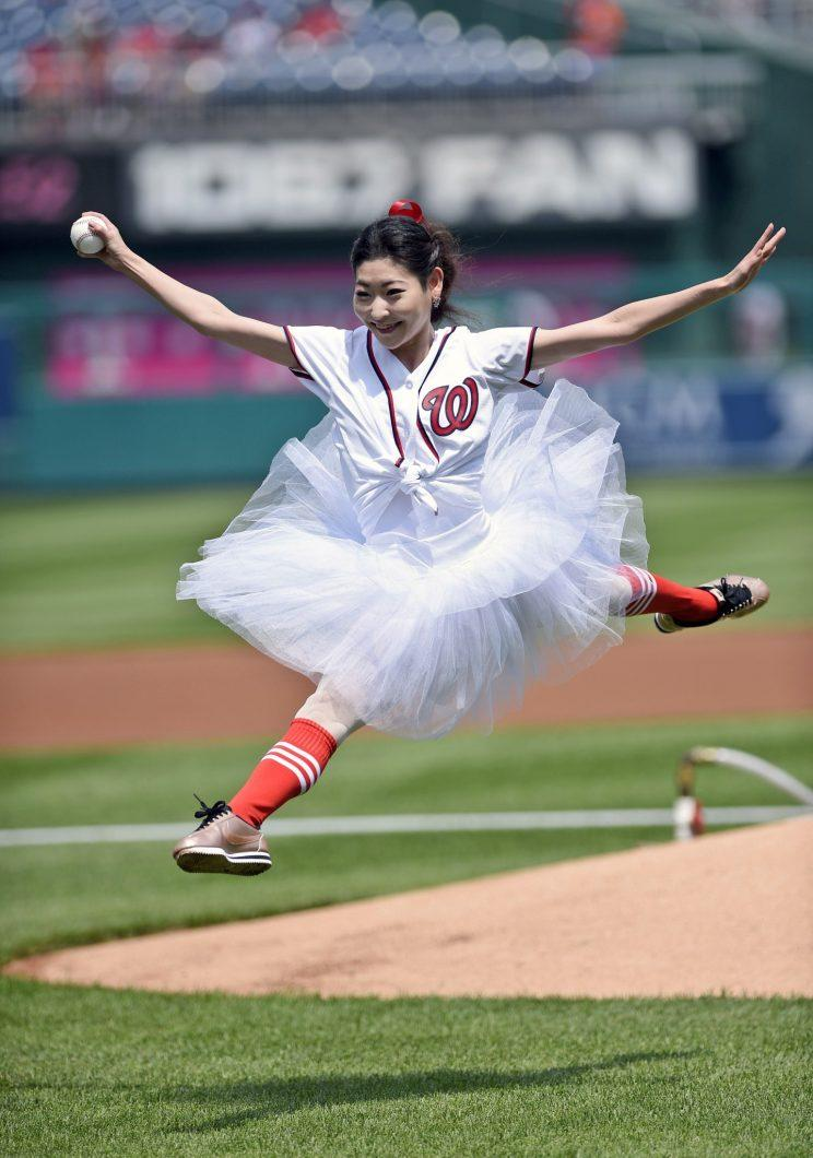 ballerina first pitch