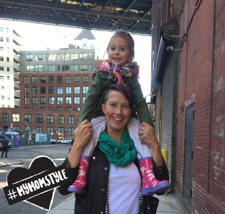 The author and her daughter, Ellie. (Photo courtesy of Erin Bried)