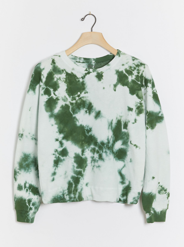 Velvet by Graham & Spencer Adelpha Tie-Dye Sweatshirt (Photo via Anthropologie)