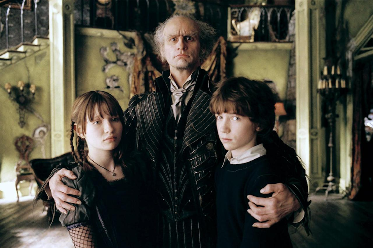 """<p> After the death of their parents, three young orphans are taken in by Count Olaf, whose intentions are to steal their inheritance. </p> <p><a href=""""http://www.netflix.com/title/70018296"""" target=""""_blank"""" class=""""ga-track"""" data-ga-category=""""Related"""" data-ga-label=""""http://www.netflix.com/title/70018296"""" data-ga-action=""""In-Line Links"""">Watch <strong>Lemony Snicket's A series of Unfortunate Events</strong> on Netflix.</a> </p>"""