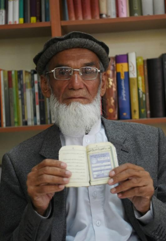 Abdul Karim, 85, who will be voting for only the second time in his life, believes casting a ballot is a religious duty for Muslims